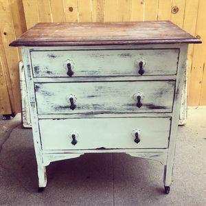 Antique Painted Oak Dresser for Sale in Los Angeles, CA
