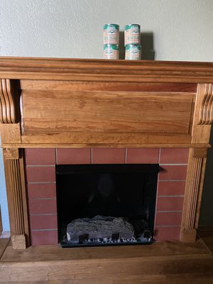 Real Flame Gel Fireplace with 4 cans of gel for Sale in Tacoma, WA