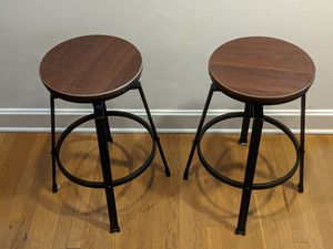 Lewiston Adjustable Swivel Bar Stools for Sale in Seattle, WA
