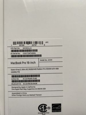 Mac book pro year 2020 for Sale in Hollywood, FL