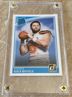NFL Cleveland Browns Donruss Rated Rookie Baker Mayfield Card for Sale in North Ridgeville, OH