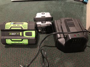 Ego power inverter with battery and charger for Sale in Hayward, CA