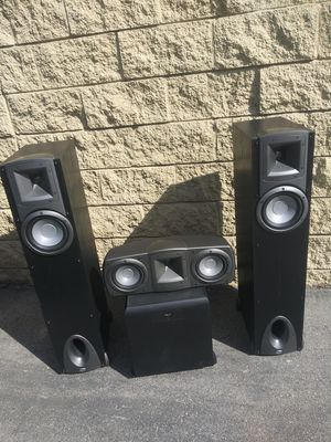 Klipsch set 4 speakers for Sale in Santa Ana, CA