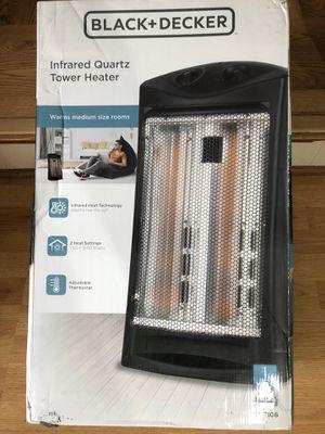 New black decker heater pick up at timber dr garner for Sale in Garner, NC