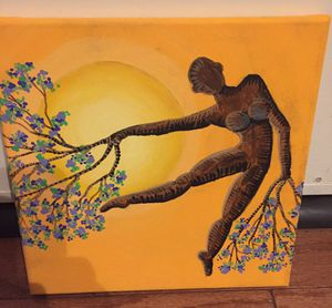 10x10 dancing tree painting for Sale in Rancho Cucamonga, CA