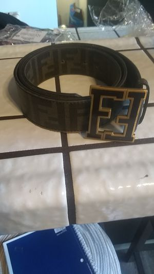 Fendi belt is all real the actual price on a Mario paint 1,000 for Sale in Stockton, CA