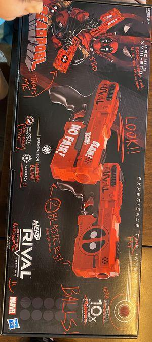 Marvel NERF Deadpool Rivals Special Edition Guns for Sale in Egg Harbor Township, NJ