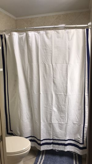 Tommy Hilfiger shower curtain for Sale in Danville, PA