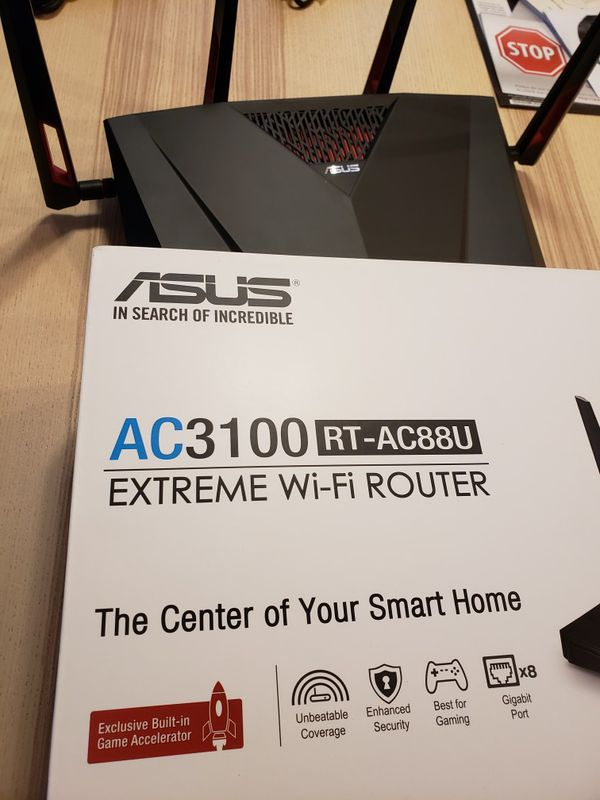 ASUS RT-AC88u AC3100 Extreme Wi-Fi Router