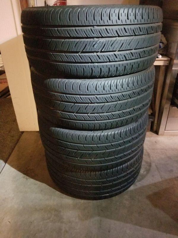 Continental ContiProContact SSR tires 245/40r18