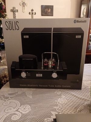 Solis stereo Bluetooth Vacuum tube Audio System for Sale in Silver Spring, MD
