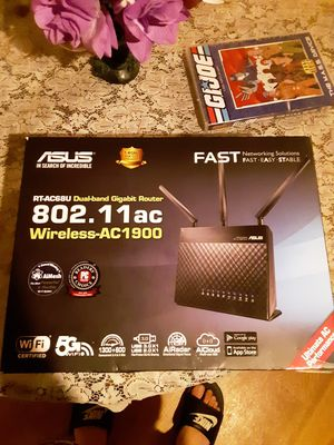 Asus dual band wifi router for Sale in San Antonio, TX