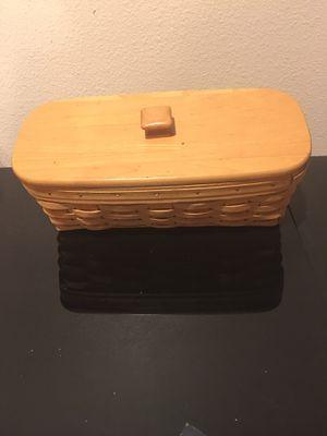 Longaberger 1999 Envelope Basket for Sale in Rancho Cucamonga, CA