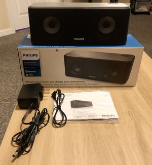 Philips Wireless Bluetooth Portable Speaker w/ Rechargeable Battery for Sale in Paramount, CA