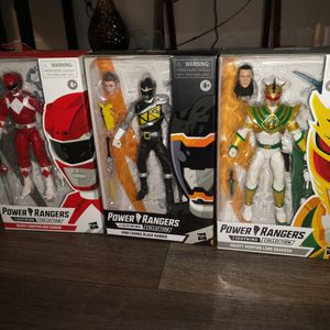 POWER RANGERS ALL 3 ACTION FIGURES BRAND NEW ASKING ONLY FOR $ 35.00 for Sale in Phoenix, AZ
