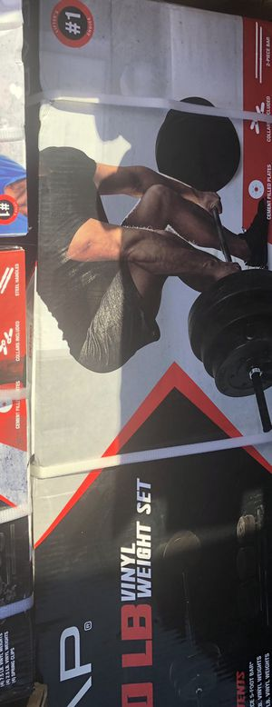100 lb weight set for Sale in Modesto, CA