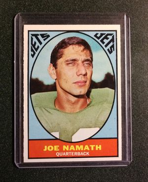 1967 Topps Joe Namath for Sale in Charlotte, NC