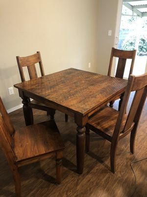 Solid Wood Table for Sale in Ruston, WA