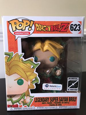 Legendary Super Saiyan Broly 6in Funko Pop Dragonball Z Galactic Toy Exclusive DBZ for Sale in Wheaton, IL