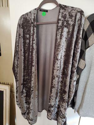 Ladies Cardigan crushed velvet for Sale in Allen Park, MI
