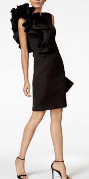 Betsy & Adam Ruffled Scuba Sheath size 4 Dress for Sale in Glenview, IL