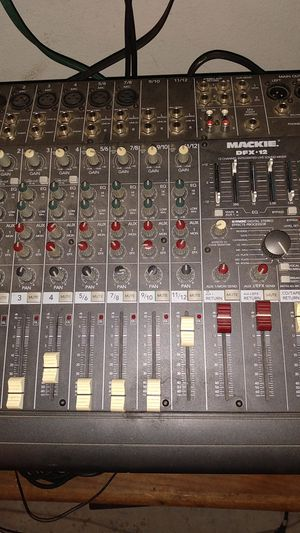 Mackie dfx 12 channel live sound mixer for Sale in Fresno, CA