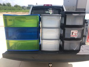 5 Plastic Storage Containers for Sale in Justin, TX