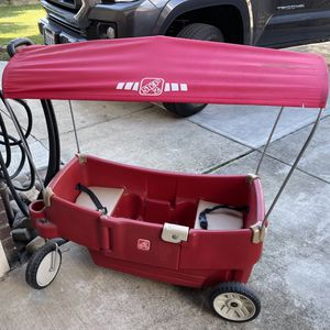 Red Kids Wagon with Canopy for Sale in Salinas, CA