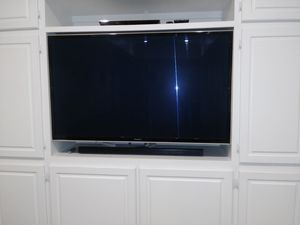 2013 Panasonic 57 inch flat screen TV plasma for Sale in Mableton, GA