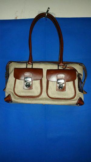 Dooney and Burke Satchel Beige and Brown Handbag for Sale in Atlanta, GA