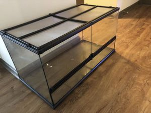 Exo Terra Large Wide (50% OFF) for Sale in Decatur, GA