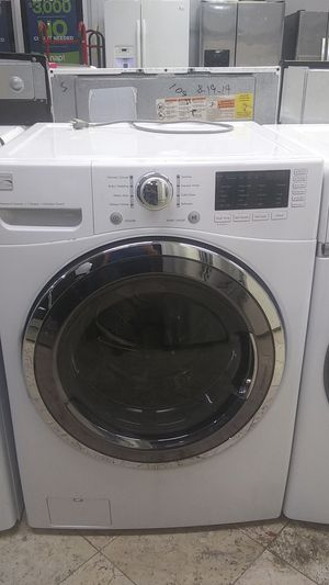 Washer front load kenmore 5.0 cu 6 month warranty for Sale in West Palm Beach, FL