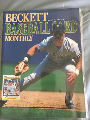 Don Mattingly. Beckett baseball card magazine for Sale in Alta Loma, CA