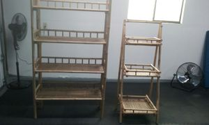 Set of Heavy Duty Bamboo Shelves for Sale in Soap Lake, WA