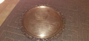Antique silver platter for Sale in Tomball, TX