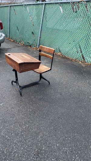 Kids school desk for Sale in North Andover, MA