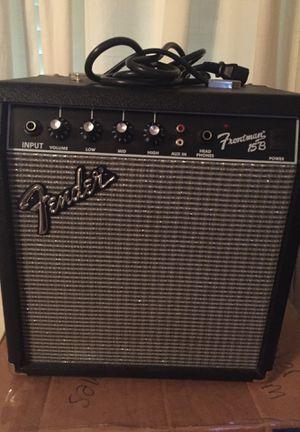 Fender Frontman 15B Amplifier 38w for Sale in Marietta, GA