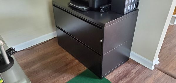Herman Miller Lateral File Cabinet (With Key)