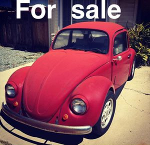 1967 VW lowered with Porsche Rims for Sale in Poway, CA