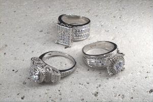 Silver rings for Sale in Peoria, IL