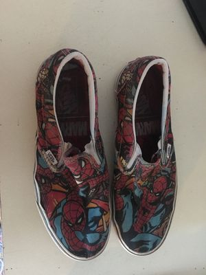 Spider-Man vans size 8.5 men's for Sale in Ravenna, OH