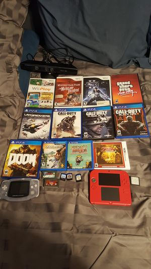 Trading a video game lot for an Xbox One S or Nintendo Wii U for Sale in Pumpkin Center, CA