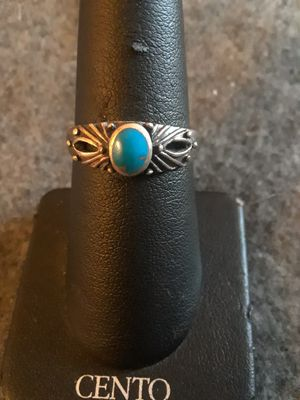 Silver Turquoise Ring for Sale in Grand Ledge, MI
