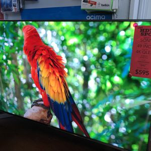 49 INCH 4K ULTRA HD 120Hz QUANTUM LED SMART ANDROID TV SONY 900F qled for Sale in Los Angeles, CA