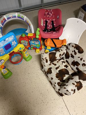 Various kids items ask for item pricing for Sale in Tampa, FL