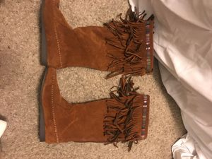 Fringe Moccasins, size 6.5 for Sale in Atwater, CA