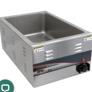 APW CW-3A Countertop Food Warmer - Dry w/ (4) 1/3 Pan Wells, 120v for Sale in Canton, MI