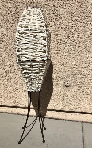 """Mid Century"" Woven Canvas Rocket Floor Lamp for Sale in Las Vegas, NV"