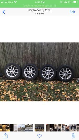 4 Chrome Rims just like new for Sale in Paterson, NJ