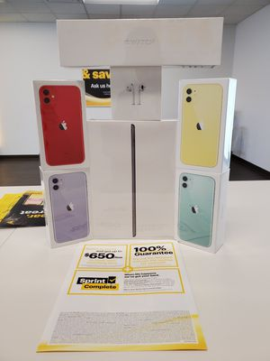 COWBOY UP WITH SPRINT FREE IPHONE 11S for Sale in Tucson, AZ